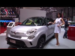 Fiat 500L Beats Edition e 500L Model Year 2014 at Geneva Motor Show