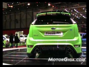 Video - Imágenes Ford Focus RS (Salon de Ginebra 2009)
