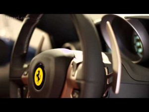 Ferrari California T - Focus on cabin