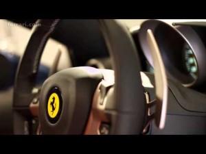 Ferrari California T - Focus on cabin