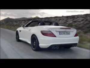 Vídeo Mercedes Benz AMG 55 slk anuncio
