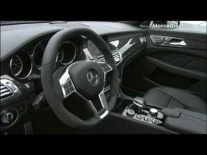 Video Mercedes CLS 63 AMG en pista