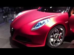 Video Alfa Romeo en el Salón de Ginebra 2011