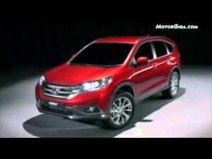 Video Honda Crv 2012