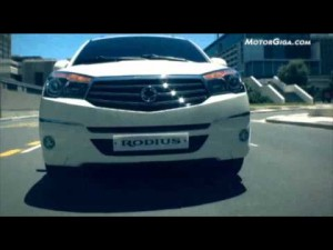 Video Ssangyong Rodius 2013