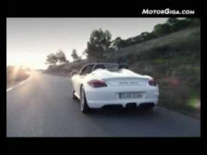 Video - Porsche Boxster Spyder (Imágenes oficiales)