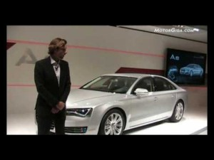 Video - Audi A8 (Salón de Ginebra 2010)