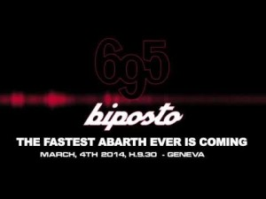 695 biposto. The fastest Abarth ever is coming.