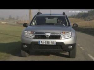 video Dacia Duster (ciudad y carretera)