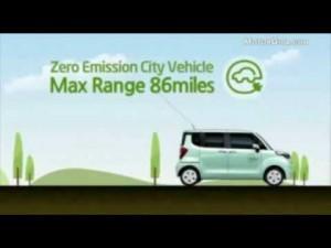 Video Kia Prototipos 2012 - Ray Ev