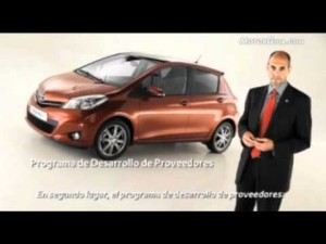 Vídeo Toyota yaris 2011. Ingenieria