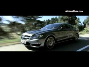 Video Mercedes CLS 63 AMG