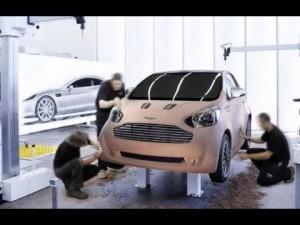 Video Aston-martin Cygnet 2011 - Cygnet