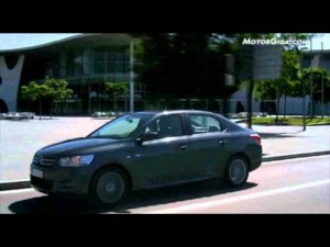 Video Citroen C-elysee 2012 - Imagenes Marca