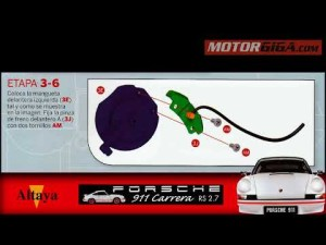 Tutorial Porsche 911 carrera 1/8 de Altaya (tercera entrega)