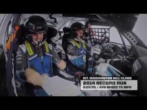 Higgins bate el record con Subaru en Washington Hillclimb 2014