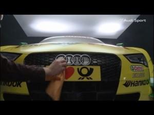 Audi RS 5 DTM - Cada detalle cuenta