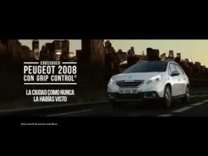 Peugeot 2008, con Grip Control anuncio de televisión