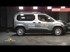 Seguridad Peugeot Rifter 2018 resultados euroncap