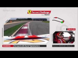 Vuelta al circuito de Shanghai en un Ferrari 458 Challenge EVO
