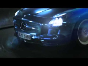 Mercedes-Benz: SLS AMG Coupé - La corriente ya no fluye, circula