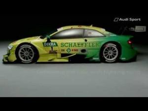 Audi RS 5 DTM - Espíritu de lucha