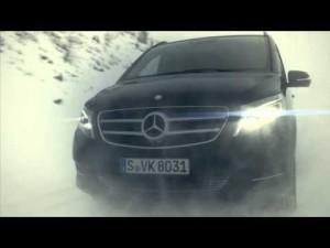 Mercedes Clase V 4Matic: espacio para todo