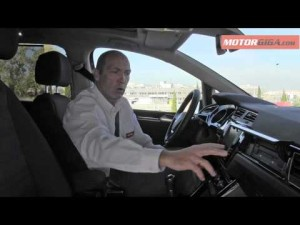 Volkswagen Touran 2016: analisis plazas delanteras