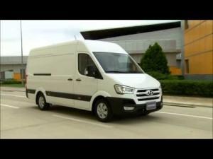 Primer vídeo del nuevo Hyundai H350