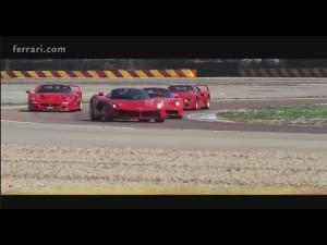 Dario Benuzzi prueba el Ferrari F40, el F50, el enzo y LaFerrari en Fiorano