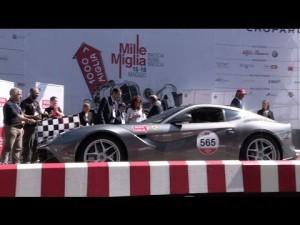 Ferrari homenajea a la 1000 Miglia 2014
