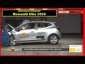 Como de seguro es el Renault Clio 2020