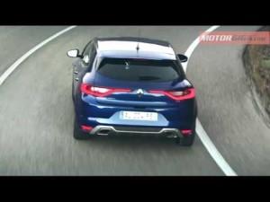Renault Megane GT prueba dinamica