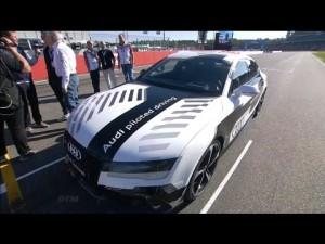 Audi RS 7 autopilotado en Hockenheim