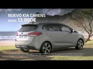 Spot de televisión del Kia Carens