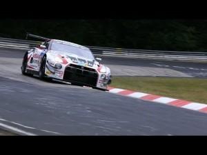El Nissan GT-R en las 24 horas de Nurburgring: mejores momentos