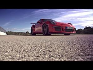 Porsche 911 GT3 RS 2015 en el circuito de Nardo