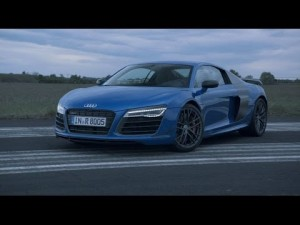 Presentación del Audi R8 LMX