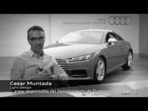 La iluminación en el nuevo Audi TT, por César Muntada