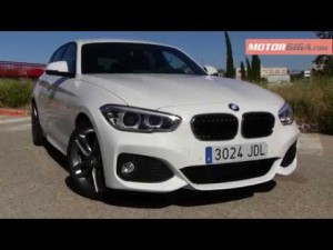 BMW Serie 1 2015 caracteristicas generales