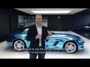 Mercedes-Benz: SLS AMG Coupé Electric Drive - Preguntas I