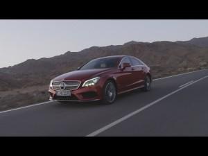 La nueva generación de los Mercedes CLS Coupés