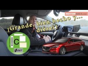 Mazda6 Wagon 2019 prueba completa