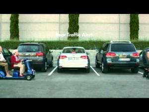 Volkswagen Jetta - Alerta de tráfico trasero