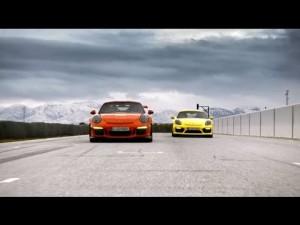 El nuevo Porche 911 GT3 RS y el Cayman GT4
