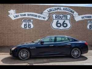 Maserati de costa a costa por la ruta 66