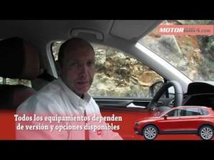 Volkswagen Tiguan 2016: plazas delanteras