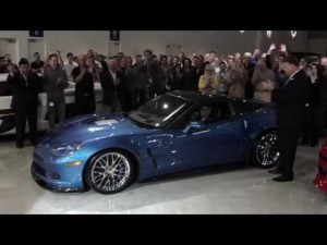 Corvette ZR1 Blue Devil: Restauración del coche
