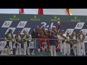 Victoria de Ferrari en Le Mans