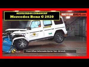 Cómo de seguro es el Mercedes Benz clase G Test EuroNCAP